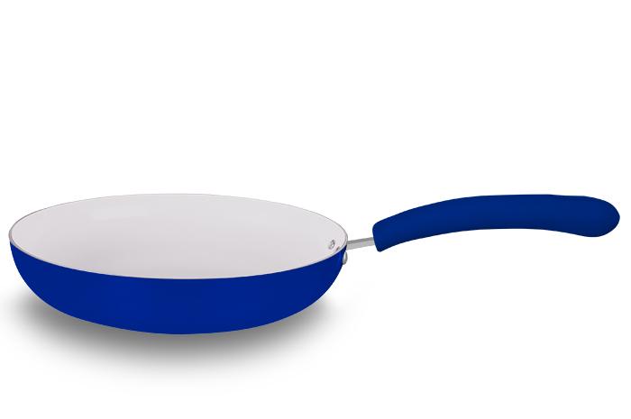Frigideira Ceramic Blue 22 cm Super Reforçada 2,5mm - Eirilar  - ShopNoroeste.com.br
