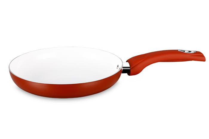 Frigideira Ceramic Dark Red 24 cm Super Reforçada 2,5mm - Eirilar  - ShopNoroeste.com.br