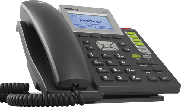 Telefone IP TIP 300 Grafite - Intelbras  - ShopNoroeste.com.br