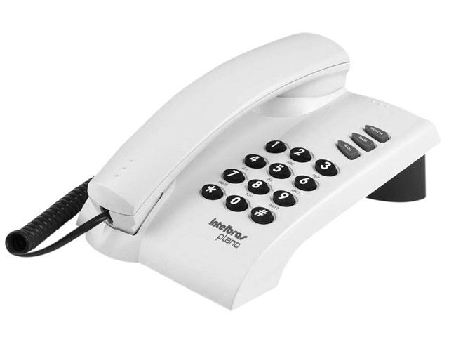 Telefone Intelbras Pleno - Cinza Ártico  - ShopNoroeste.com.br