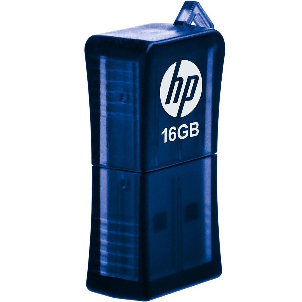 Pen Drive Hp 16Gb Azul Usb V165W  - ShopNoroeste.com.br