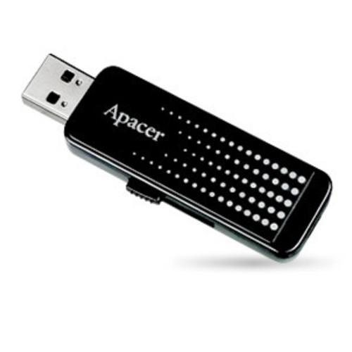 Pen Drive 8Gb Preto Usb AH323 - Apacer  - ShopNoroeste.com.br
