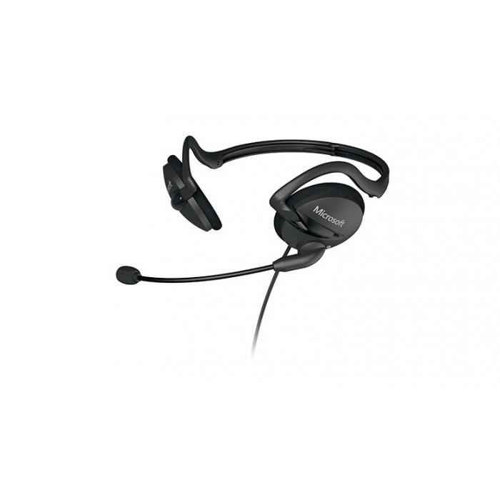 Microfone Microsoft Headphone Headset LifeChat LX-2000  - ShopNoroeste.com.br