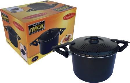 Espagueteira Com Trava Antiaderente Marlux  5,2 Litros  - ShopNoroeste.com.br