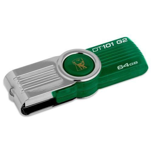 Pen Drive Kingston DataTraveler DT101G2 64GB  - ShopNoroeste.com.br
