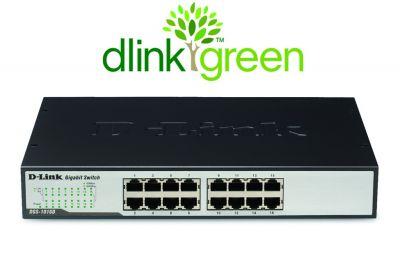 Switch Rack D-Link 16 Portas 10/100/1000Mbps DGS-1016D  - ShopNoroeste.com.br