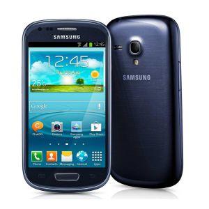Smartphone Samsung Galaxy SIII Mini c/ Android 4.1, Tela Super Amoled, Dual Core 1Ghz, Câm 5MP, 8GB - I8190 Azul (Desbloqueado)  - ShopNoroeste.com.br