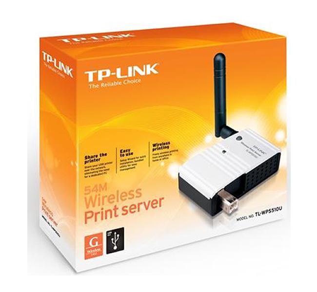Servidor de Impressão Wireless USB 2.0 TP-Link - TL-WPS510U  - ShopNoroeste.com.br