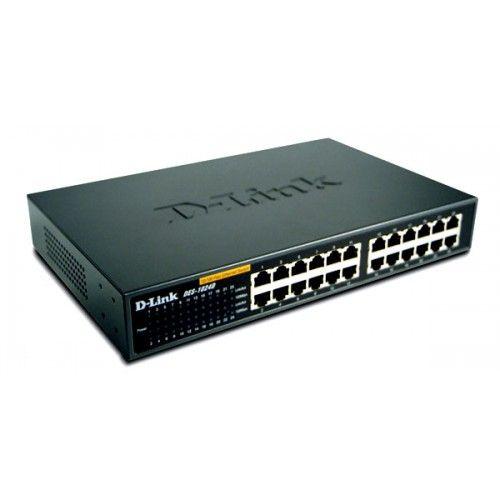 Switch D-Link 24 Portas 10/100Mbps - DES-1024D  - ShopNoroeste.com.br