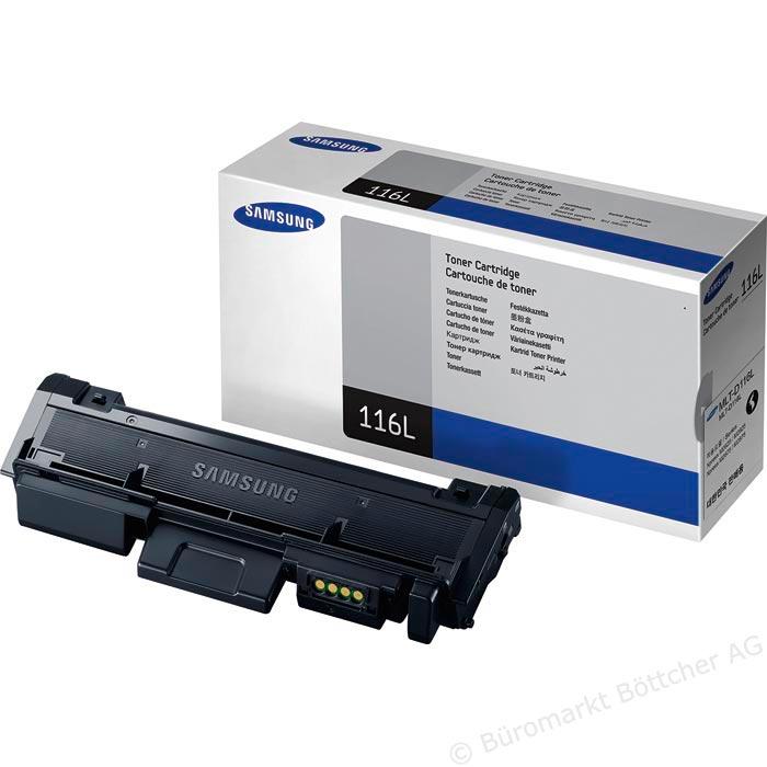 Toner Samsung MLT - D116L Black Samsung Xpress SL - M2625 / 2626 / 2825 / 2826 / M2675 / 2676 / 2875 / 2876  - ShopNoroeste.com.br