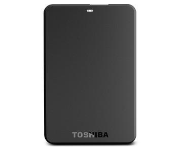 HD Toshiba Externo Canvio Basics 3.0 USB 3.0 500GB 5400rpm - HDTB105XK3AA  - ShopNoroeste.com.br