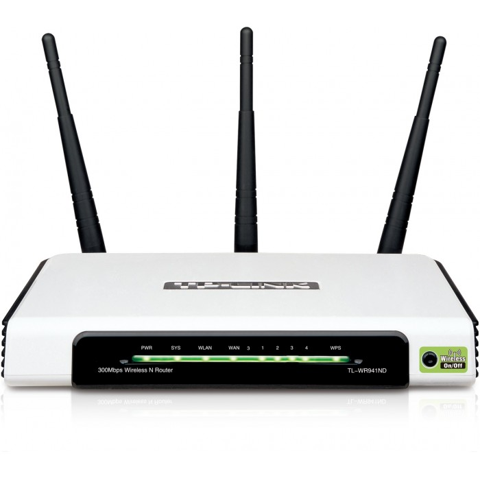 Roteador Tp-Link Wireless 300Mbps TL-WR941ND  - ShopNoroeste.com.br