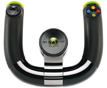 Microsoft Volante Wireless Speed Wheel p/ Xbox 360 2ZJ-00026  - ShopNoroeste.com.br