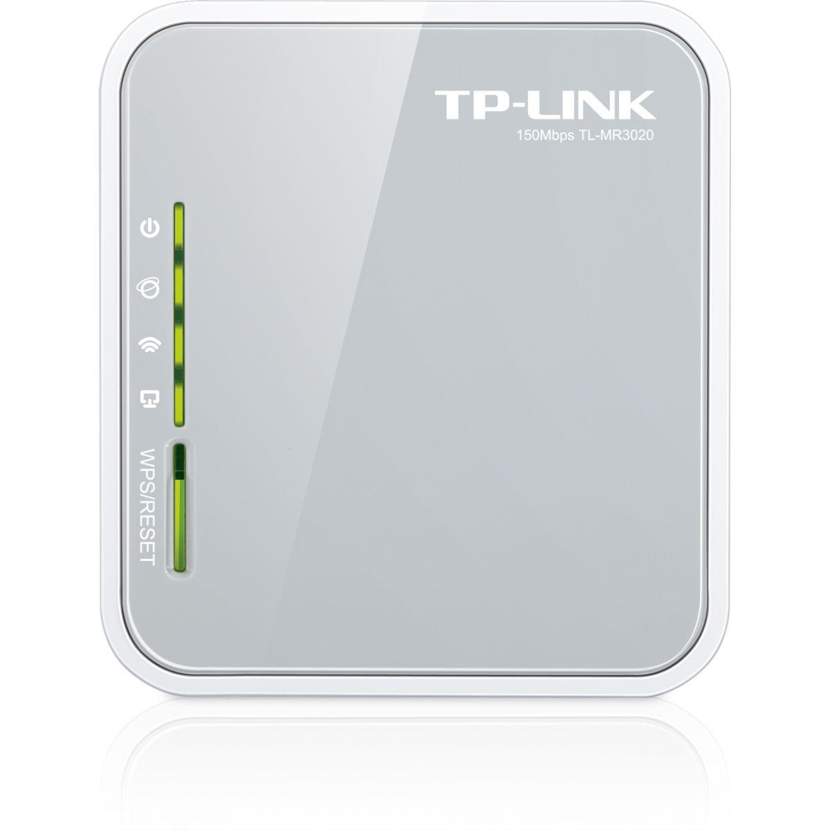 Roteador 3G Tp-Link Wireless Portátil TL-MR3020  - ShopNoroeste.com.br