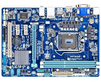 Placa-Mãe Gigabyte Core i3/i5/i7 LGA1155 - GA-B75M-HD3 T  - ShopNoroeste.com.br
