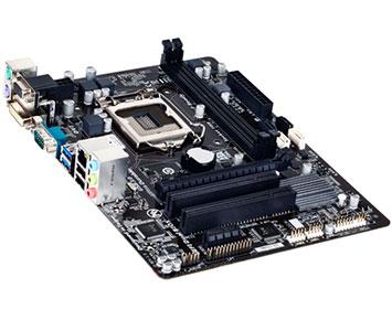 Placa Mãe Gigabyte Ultra Durable Core i3/i5/i7 LGA1150 - GA-H81M-S2PV  - ShopNoroeste.com.br