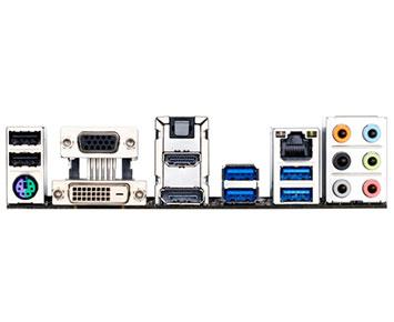 Placa Mãe Gigabyte Core i3/i5/i7 LGA1150 - GA-H81M-HD3  - ShopNoroeste.com.br
