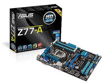 Placa-Mãe Asus i3/i5/i7 LGA1155 DDR3 - Z77-A  - ShopNoroeste.com.br