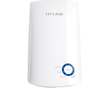 Roteador TP-Link Repetidor Wireless N 300Mbps - TL-WA850RE T  - ShopNoroeste.com.br