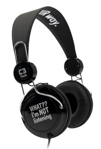 Headphone C3 Tech MI-2322 RB Preto  - ShopNoroeste.com.br