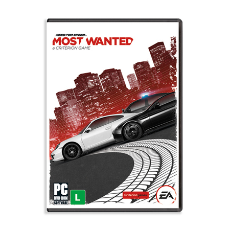 Jogo Electronic Arts Need For Speed: Most Wanted PC - EA20627PN  - ShopNoroeste.com.br