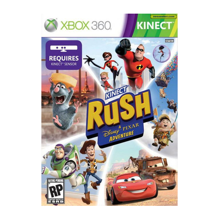 Jogo Rush -- Uma Aventura da Disney p/ Kinect Xbox 360 - 4WG-00005  - ShopNoroeste.com.br