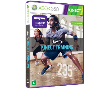 Jogo Kinect Nike Fitness Xbox 360 - 4XS-00004  - ShopNoroeste.com.br
