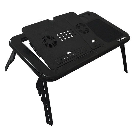 Mesa Suporte Notebook Multilaser Table c/ Cooler Duplo AC112  - ShopNoroeste.com.br
