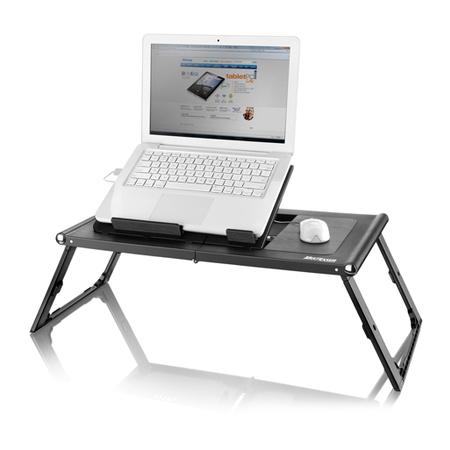 Base para Notebook AC131 com Cooler Duplo 4 Níveis de Altura Preto Portátil - Multilaser  - ShopNoroeste.com.br