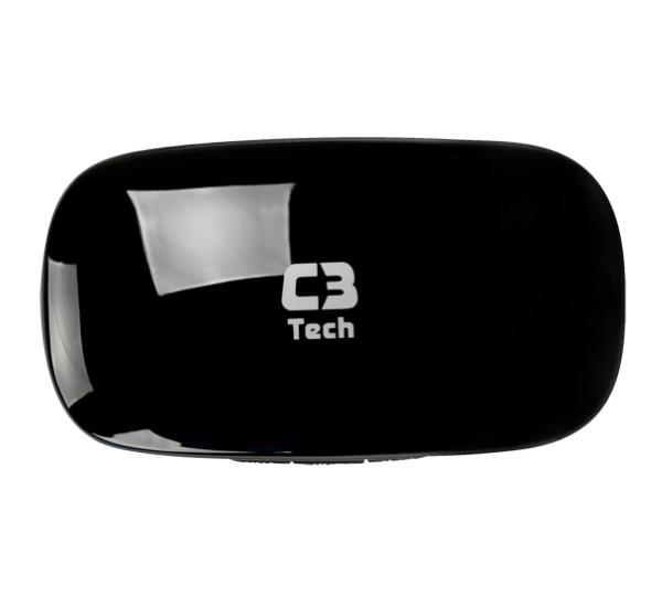 C3 Tech Caixa de Som Amplificada Bit Box ST-120 BK Preto  - ShopNoroeste.com.br