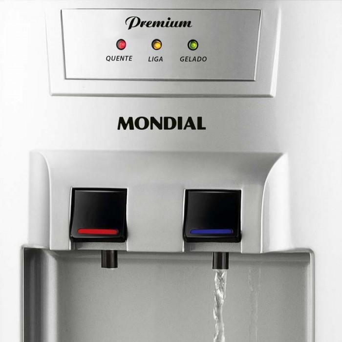 Bebedouro Mondial Best Water BB-01 Com 3 Temperaturas 127V - Natural, Gelada e Quente  - ShopNoroeste.com.br