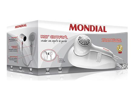Secador de Cabelos Mondial Travel SC-06 127V  - ShopNoroeste.com.br