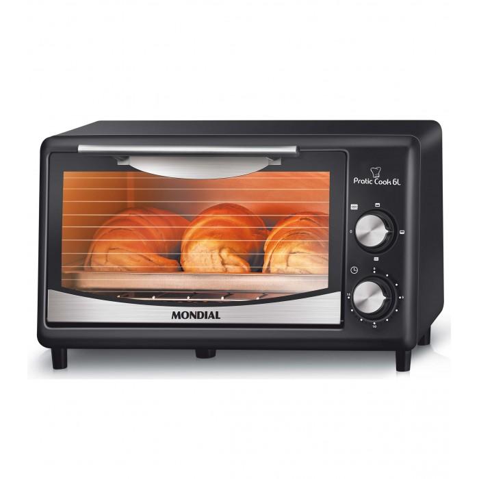 Forno Elétrico Pratic Cook FR-09 127V Mondial  - ShopNoroeste.com.br