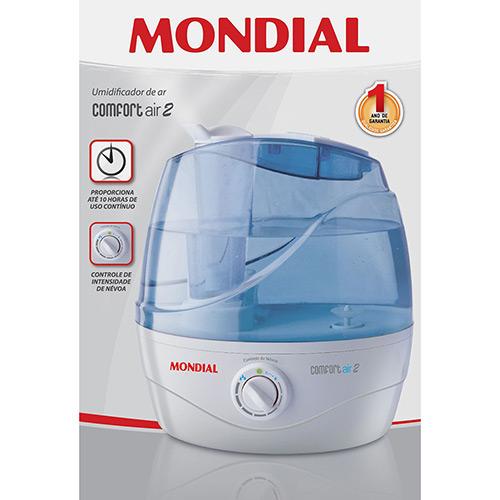 Umidificador de Ar Confort Air2 UA-02 127V - Mondial  - ShopNoroeste.com.br