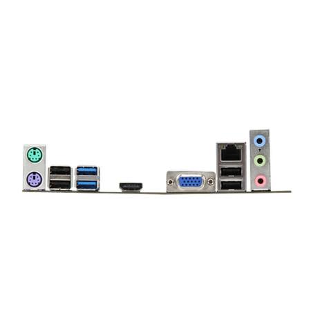 MB MSI p/ Intel B75MA - E33 USB 3.0 Micro ATX Box  - ShopNoroeste.com.br