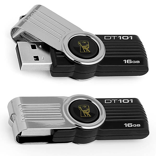 Pen Drive Kingston DataTraveler DT101G2 16GB  - ShopNoroeste.com.br