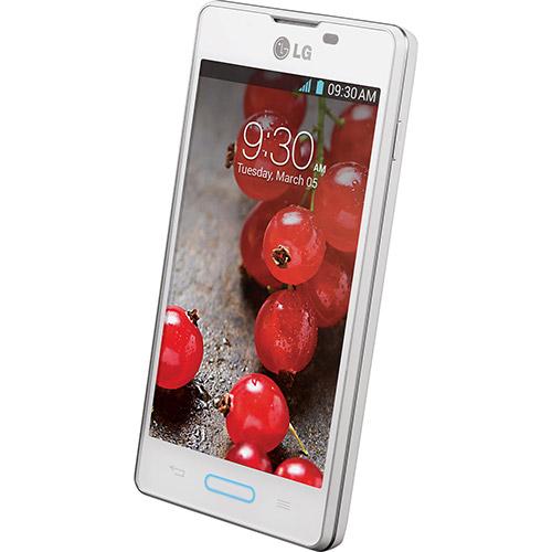 Smartphone LG Optimus L5 II Single E450F Android 4.1 Branco  - ShopNoroeste.com.br