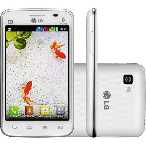 Smartphone LG Optimus L4 II E470 Tri Chip Android 4.1 Preto  - ShopNoroeste.com.br