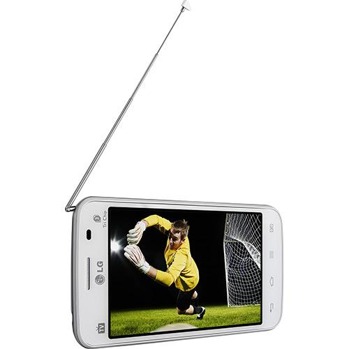 Smartphone LG Optimus L4 II E470 Tri Chip Android 4.1 Branco  - ShopNoroeste.com.br