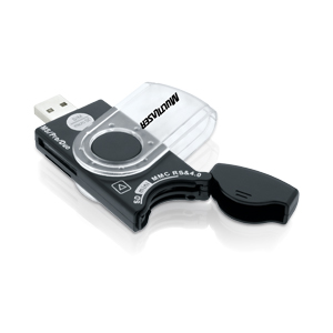 Multilaser Leitor de Cartão Universal Portátil USB 38 em 1 AC102  - ShopNoroeste.com.br