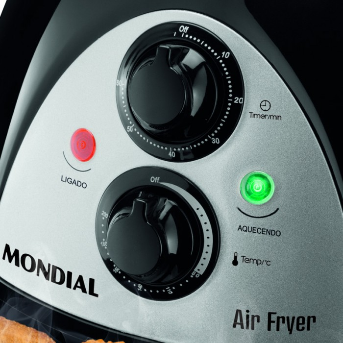 Fritadeira Mondial Air Fryer AF-03 Sem Óleo 220V  - ShopNoroeste.com.br