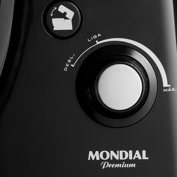 Batedeira Profissional Eletrônica Mondial B-06 127V  - ShopNoroeste.com.br