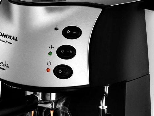 Máquina de Café Expresso Mondial C-08 127V  - ShopNoroeste.com.br
