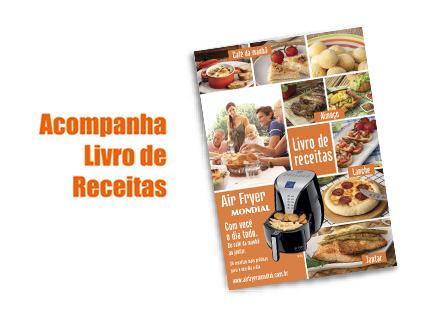 Fritadeira Sem Óleo Air Fryer Digital Premium AF-04 220V - Mondial  - ShopNoroeste.com.br