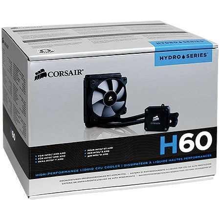 Cooler Corsair Hydro H60 CW-9060007-WW  - ShopNoroeste.com.br