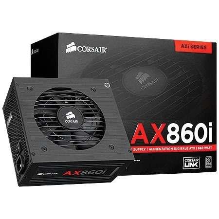 Fonte Corsair 860W AX860i Plus Platinum CP-9020037-NA  - ShopNoroeste.com.br