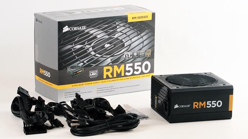 Fonte Corsair 550W RM550M Plus Gold - CP-9020053-WW  - ShopNoroeste.com.br