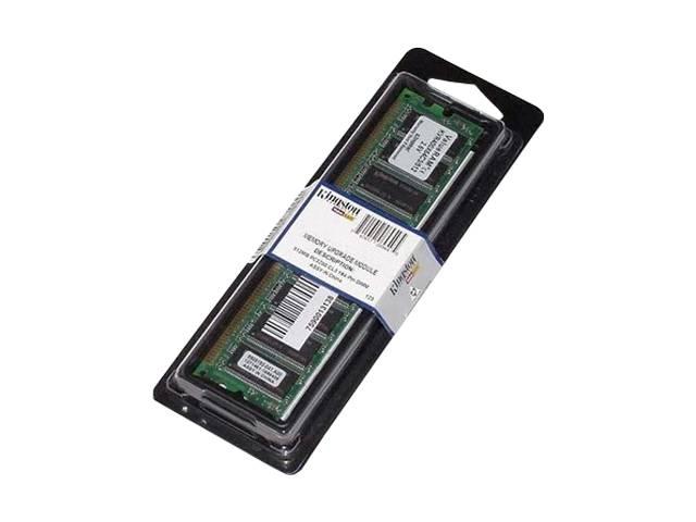 Memória Kingston 1GB DDR/400 KVR400X64C3A/1GB  - ShopNoroeste.com.br