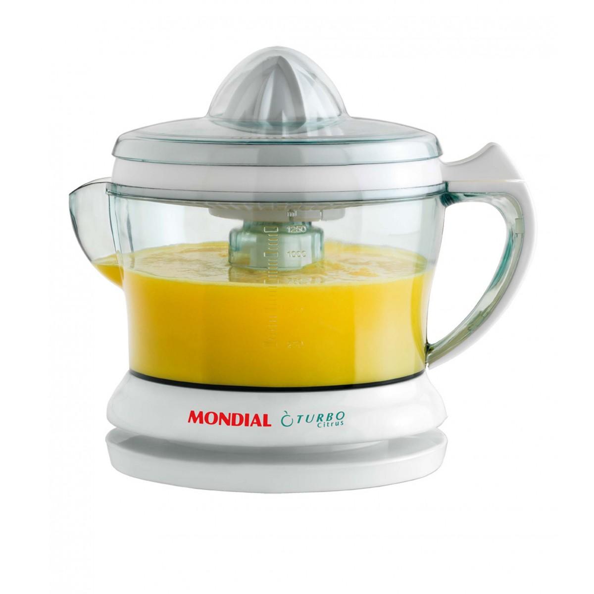 Espremedor de Frutas E-01 Mondial 127V  - ShopNoroeste.com.br