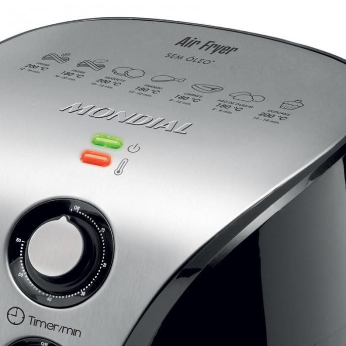 Fritadeira Mondial Air Fryer Premium AF-01 220V  - ShopNoroeste.com.br